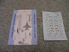 Superscale decals 1/72 72-609 F-16C Falcons 612 613 614 TFS Torrejon AFB  K53