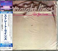 STRAIGHT LINES-RUN FOR COVER-JAPAN CD Ltd/Ed B63