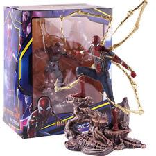 Marvel Avengers Infinity War Iron Spider-Man Statue PVC Figure Model Toy