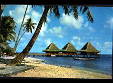 MAHAREPA / MOOREA (POLYNESIE) BUNGALOW sur PILOTIS de l'HOTEL BALI HAI