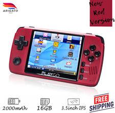 Red PlayGo Retro Video Game Handheld console GameBoy PocketGo PS1 Emulator