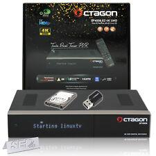 Octagon SF4008 Enigma2 4K UHD 2x DVB-S2X E2 TWIN Linux UHD Receiver WLAN 1TB HDD