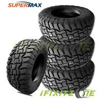 4 New SuperMax RT-1 37X13.50R22LT 123Q 10-PLY/E All-Terrain Mud Tires M/T A/T