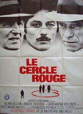 Le CERCLE ROUGE RED CIRCLE  French Grand movie poster 47x63 ALAIN DELON MELVILLE