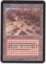 MTG Limited Edition Alpha 1x Rare Dual Land PLATEAU - NM - Scans x1