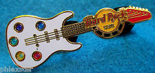 OSAKA JAPAN CLEAR GUITAR SERIES STAINED GLASS PALETTE Hard Rock Cafe PIN LE 100