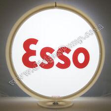 ESSO BLOCK GASOLINE GAS PUMP GLOBE FREE S&H