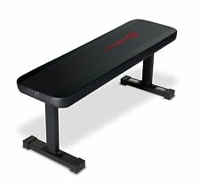 Flat Bench Utility Black Weight Exercise Training Gym Workout Fitness Home