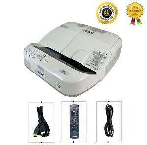 Epson PowerLite 580 3LCD Projector 3200 Lumens HD HDMI Ultra Short Throw bundle
