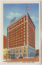 USA postcard - Morton Hotel, Grand Rapids, Mich.