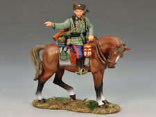 King & Country - seconde guerre mondiale allemand Monté Cossack pointant Ws148