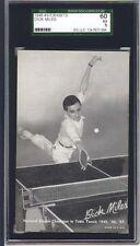 1948-49 Sports Champion Exhibit,Miles,SGC60,Black/White Tint,3 Higher