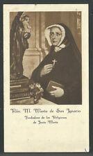 Estampa antigua de la Madre Maria andachtsbild santino holy card santini