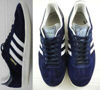 adidas samba 9 Navy Blue Suede Custom Rare Soccer OG Classic RM
