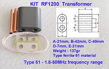 KIT RF1200 Transformer for Amplifier on MOSFET SD2933, SD2943, VRF2933, MRF150