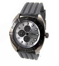 s. Oliver Selection XL Herren Uhr Multifunktion Edelstahl SO-2272 UVP* 139,95€
