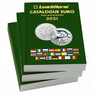Catalogue Leuchtturm pièces de monnaie et billets en euro 2021 (363232)
