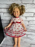 """Vintage 16"""" Shirley Temple Doll 1972 Ideal Toys"""