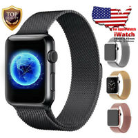 For Apple Watch Band 42mm 38mm 44mm 40mm Series 4/3/2/1 Milanese Stainless Steel