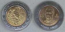 Mexiko / Mexico 5 Pesos 2010 Unabhängigkeit: Guadelupe Victoria p929 unz.