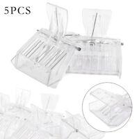 5Pcs Plastic Queen Cage Clip Bee Catcher Beekeeper Beekeeping Tool Equipment pv