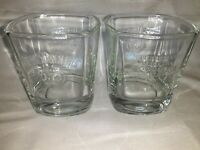 "Set of 2 Rare JACK DANIELS Old No.7 WHISKEY Rock Glasses ""Every Day We Make It"""