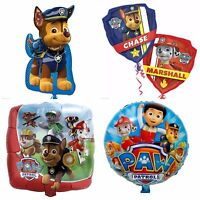 Paw Patrol Chase Marshall Kids Party Girls,Boys Helium foil Birthday Balloon