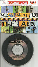 RADIOHEAD Just w/ RARE EDIT Made in EUROPE PROMO DJ CD single USA Seller 1995