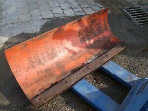 125 cm SCHNEESCHILD - RÄUMSCHILD für GABELSTAPLER, RADLADER,Kleintraktor