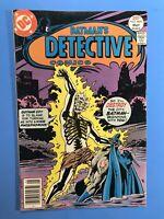 BATMAN'S DETECTIVE COMICS #469 1st.app. of DR. PHOSPHORUS DC 1979 Very fine
