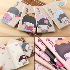 Cute Japanese Kimono Girls Diary Planner Pocket Notebook Journal Stationery Memo