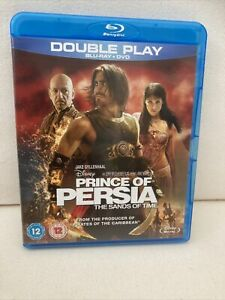 Prince Of Persia - The Sands Of Time Blu Ray and DVD Set Pre Owned
