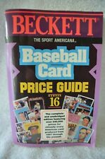 BECKETT THE SPORT AMERICANA BASEBALL CARD PRICE GUIDE BOOK NUMBER 16 FROM 1994