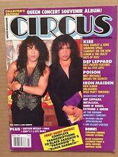 Vintage Original July 1992 Circus Magazine 'Kiss'
