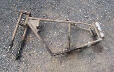 cadre complet avec fourche et amortisseurs   motobecane 125 D45S C45S