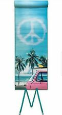 Awesome Gift Idea Roll-up Beach Mat Picnic Palm Tree Peace Sign 24x64 w/ Pillow