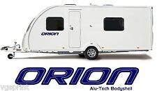2 X BAILEY ORION ALU-TECH BODYSHELL DECALS STICKERS CHOICE OF COLOURS D1