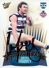 ✺Signed✺ 2007 GEELONG CATS AFL Premiers Card CAMERON MOONEY