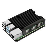for Raspberry Pi 4 Model B Aluminum Case, Passive Cooling Aluminum Alloy Pro W2E