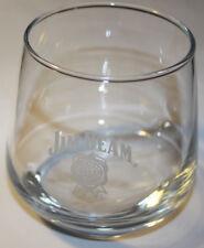 Jim Beam Glass Heavy Tumblers  Whiskey Set of 2 Glass