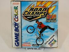 ROAD CHAMPS BSX STUNT BIKING GAME BOY COLOR GBC e ADVANCE GBA PAL EUR COMPLETO