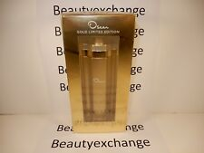 Oscar De La Renta Gold Edition Perfume Eau De Parfum Spray 3.3 oz Sealed Box