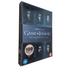 Game of Thrones: The Complete Sixth Season 6 (DVD, 2016,5-Disc Set) UK Edition