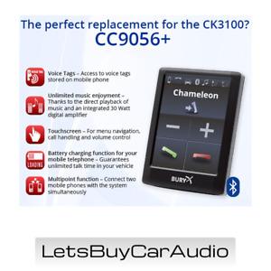 BURY CC9056+ COLOUR TOUCHSCREEN BLUETOOTH HANDS FREE CAR KIT, AUDIO STREAMING