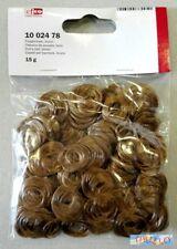 PUPAZZI - Capelli ricci per angioletti, bambole o pupazzi 30 gr - Castano