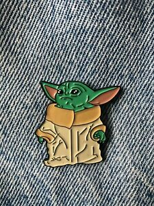 Baby Yoda Grogu Star Wars Enamel Pin Badges