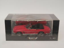 1/43 NEO 43397  Jensen Interceptor SIII Convertible Red