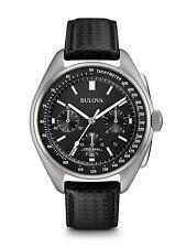 Bulova Special Edition Moon Chronograph 96B251 Black / Black Leather / Nylon An