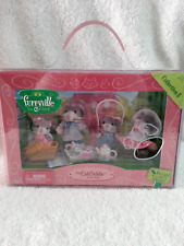 Mattel Furryville The Catfields at Tea Time Set Collection II 2005 Retired NIP