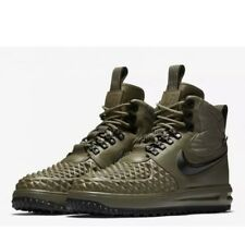 d91322f2f5ba NIKE AIR LUNAR FORCE 1 DUCK BOOT  17 MENS SIZE 9.5 916682-202 OLIVE